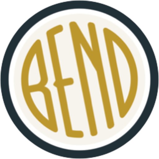 The badge for the Bend OuterSpatial community.