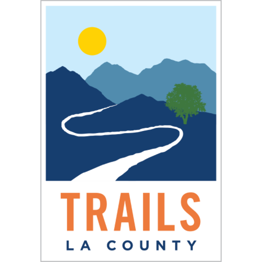 The badge for the Trails LA County OuterSpatial community.